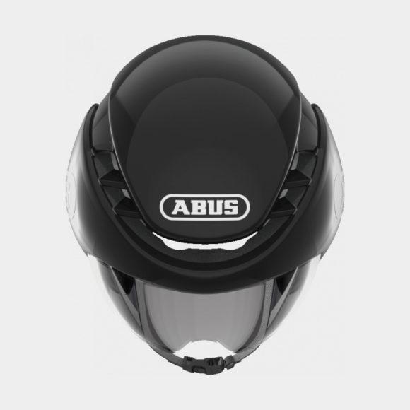 Cykelhjälm ABUS GameChanger TT Shiny Black, Large (58 - 62 cm)