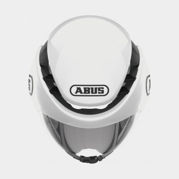 Cykelhjälm ABUS GameChanger TT Shiny White, Large (58 - 62 cm)