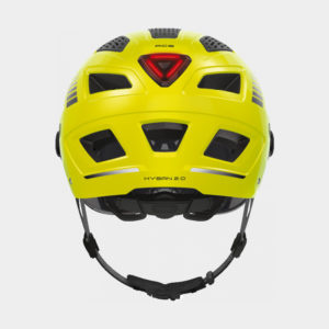Cykelhjälm ABUS Hyban 2.0 ACE Signal Yellow, X-Large (58 - 63 cm)