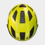 Cykelhjälm ABUS Hyban 2.0 ACE Signal Yellow, Large (56 - 61 cm)