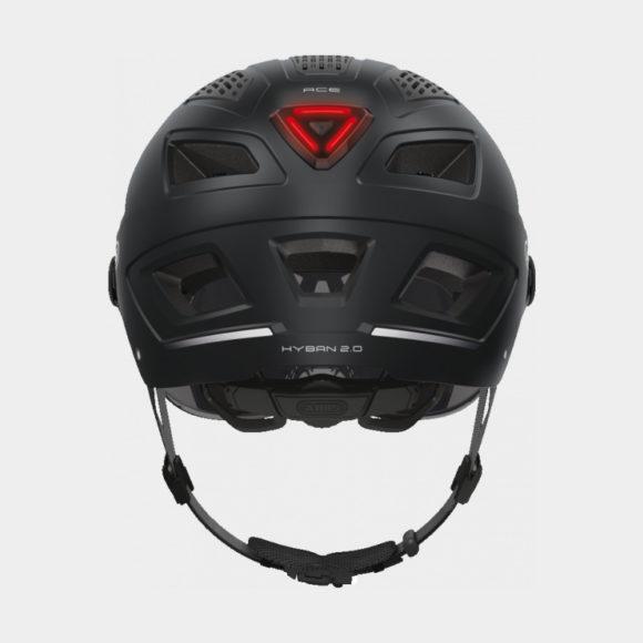 Cykelhjälm ABUS Hyban 2.0 ACE Velvet Black, X-Large (58 - 63 cm)