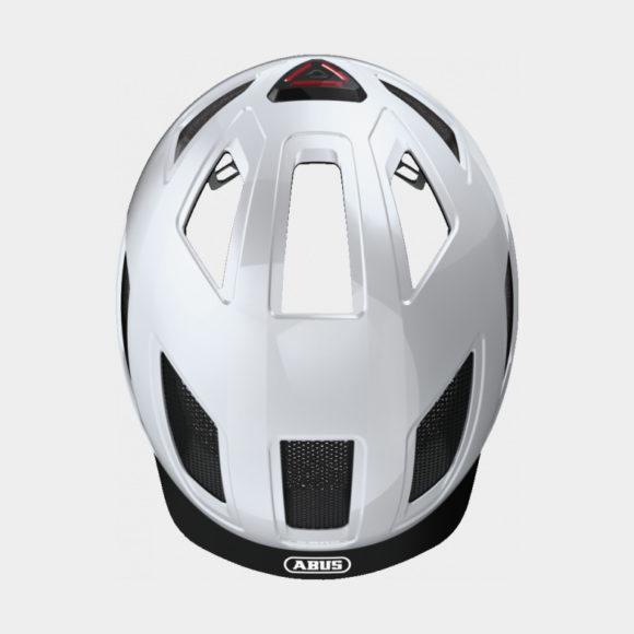 Cykelhjälm ABUS Hyban 2.0 Polar White, X-Large (58 - 63 cm)