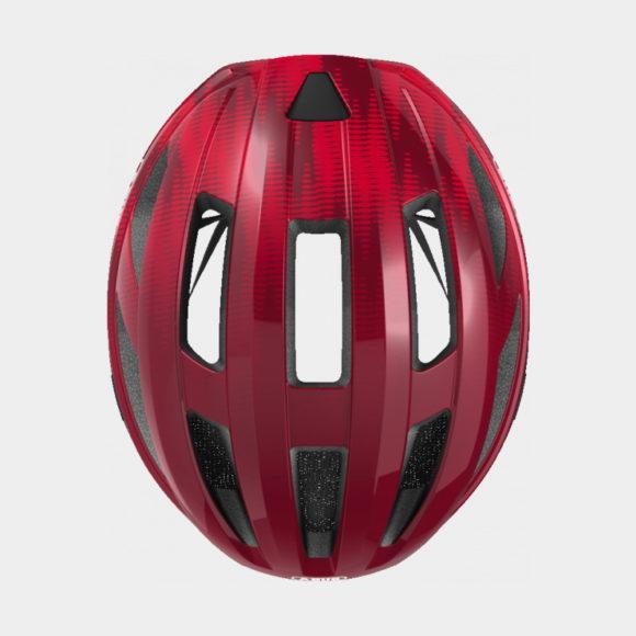 Cykelhjälm ABUS Macator Bordeaux Red, Small (51 - 55 cm)