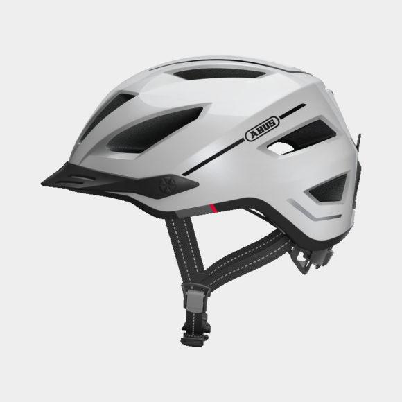 Cykelhjälm ABUS Pedelec 2.0 Pearl White, Medium (52 - 57 cm)