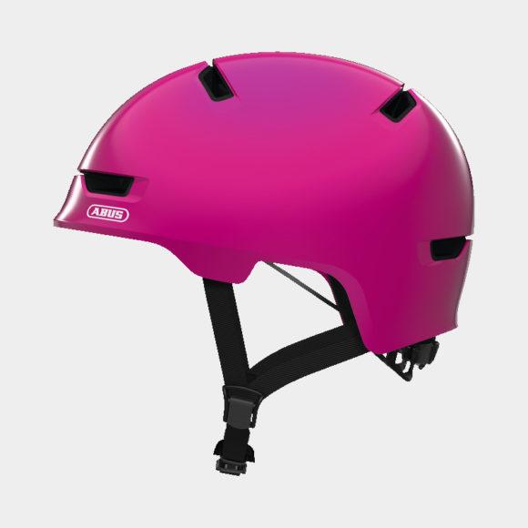 Cykelhjälm ABUS Scraper 3.0 Kid Shiny Pink, Medium (54 - 58 cm)