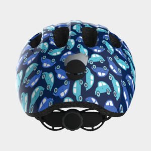 Cykelhjälm ABUS Smiley 2.0 Blue Car, Small (45 - 50 cm)