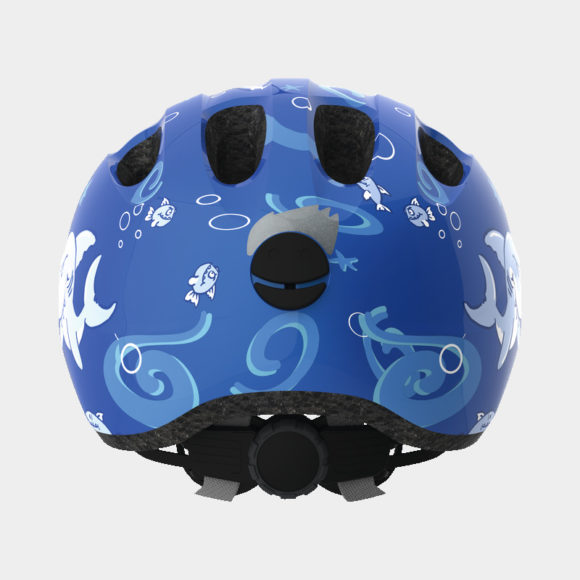 Cykelhjälm ABUS Smiley 2.0 Blue Sharky, Small (45 - 50 cm)