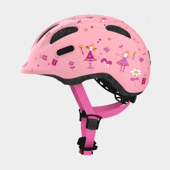 Cykelhjälm ABUS Smiley 2.0 Rose Princess, Small (45 - 50 cm)