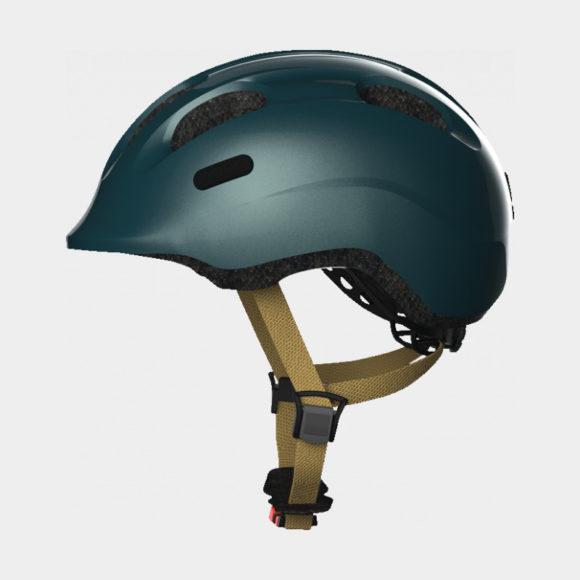 Cykelhjälm ABUS Smiley 2.0 Royal Green, Small (45 - 50 cm)