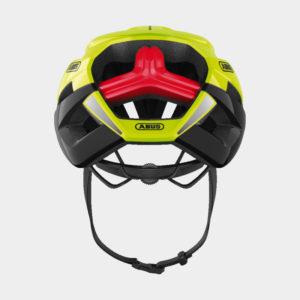Cykelhjälm ABUS StormChaser Neon Yellow, Large (59 - 61 cm)
