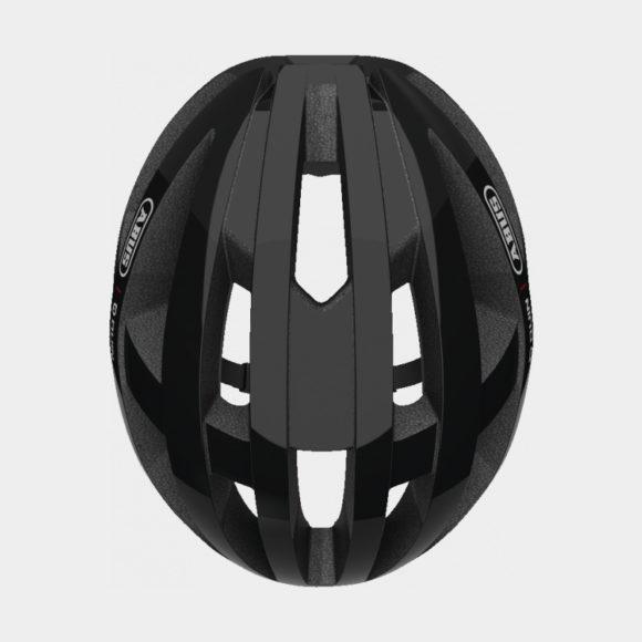 Cykelhjälm ABUS Viantor QUIN Velvet Black, Medium (54 - 58 cm)