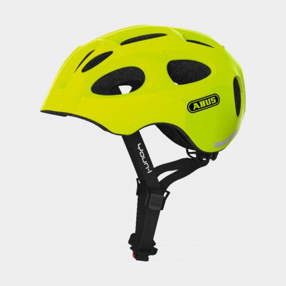 Cykelhjälm ABUS Youn-I Neon Yellow, Medium (52 - 57 cm)