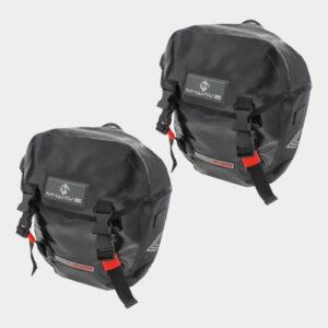 Pakethållarväskor M-Wave Calgary, 2 x 9 liter