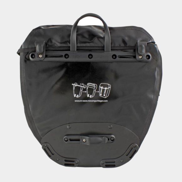 Pakethållarväskor M-Wave Montreal Pannier, 2 x 16 liter