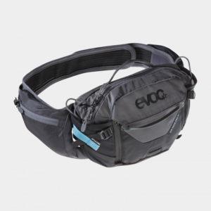 Midjeväska EVOC Hip Pack Pro Black/Carbon Grey, 3 liter + vätskebehållare (1.5 liter)