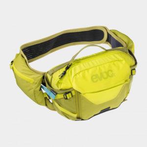 Midjeväska EVOC Hip Pack Pro Sulphur/Moss Green, 3 liter + vätskebehållare (1.5 liter)