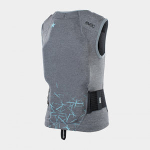 Ryggskydd för barn EVOC Protector Vest Kids & Junior Carbon Grey, Small