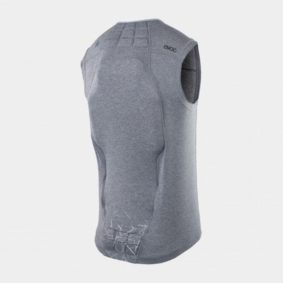 Ryggskydd EVOC Protector Vest Men Carbon Grey, Large