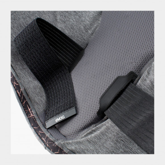 Ryggskydd EVOC Protector Vest Women Carbon Grey, Medium