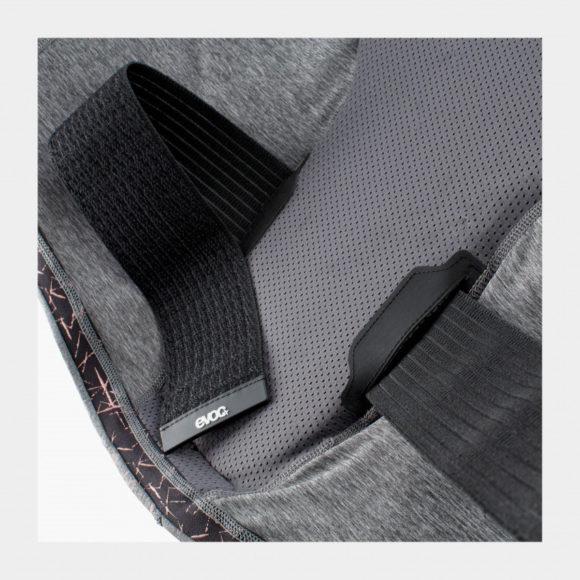 Ryggskydd EVOC Protector Vest Women Carbon Grey, Small