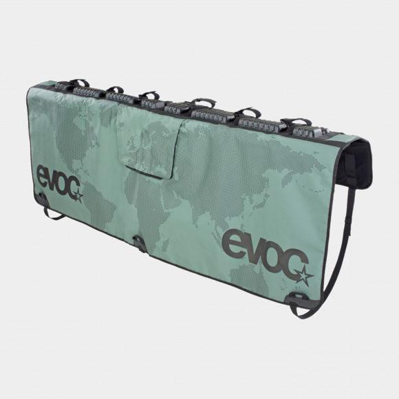 Pickupskydd EVOC Tailgate Pad Olive, Medium/Large, för sex cyklar