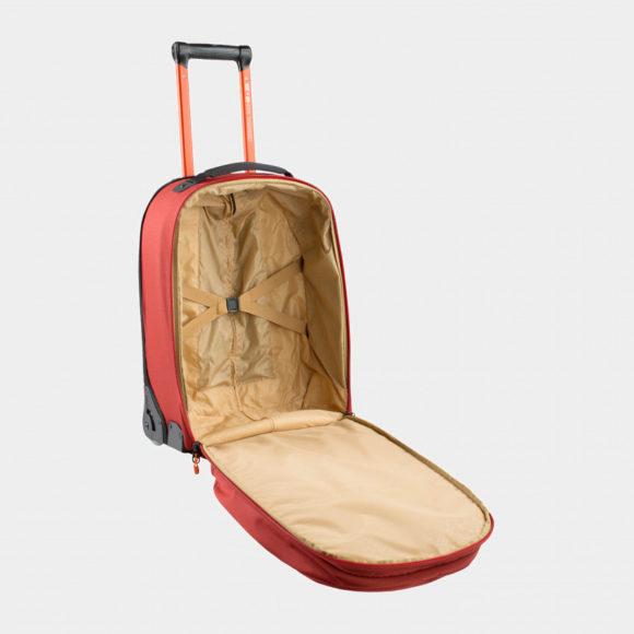 Rullväska EVOC Terminal Bag Chili Red, 40 liter + ryggsäck, 20 liter