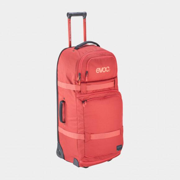 Rullväska EVOC World Traveller Chili Red, 125 liter