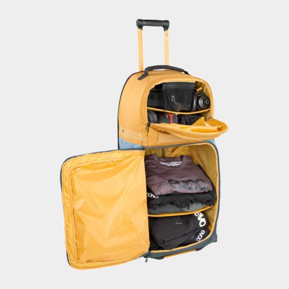 Rullväska EVOC World Traveller Multi Colour, 125 liter