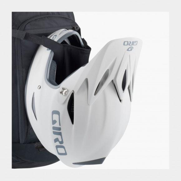 Cykelryggsäck med ryggskydd EVOC FR Enduro Blackline, förberedd för vätskebehållare, 16 liter, Small