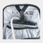 Cykelryggsäck med ryggskydd EVOC FR Trail Blackline, förberedd för vätskebehållare, 20 liter, X-Large