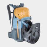 Cykelryggsäck med ryggskydd EVOC FR Trail Multicolour, förberedd för vätskebehållare, 20 liter, Small