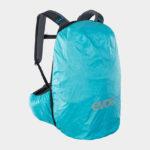 Cykelryggsäck med ryggskydd EVOC Trail Pro Black/Carbon Grey, förberedd för vätskebehållare, 26 liter, Small/Medium