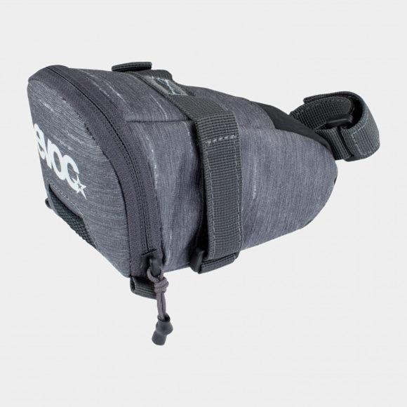 Sadelväska EVOC Seat Bag Tour Carbon Grey, Medium (0.7 liter)