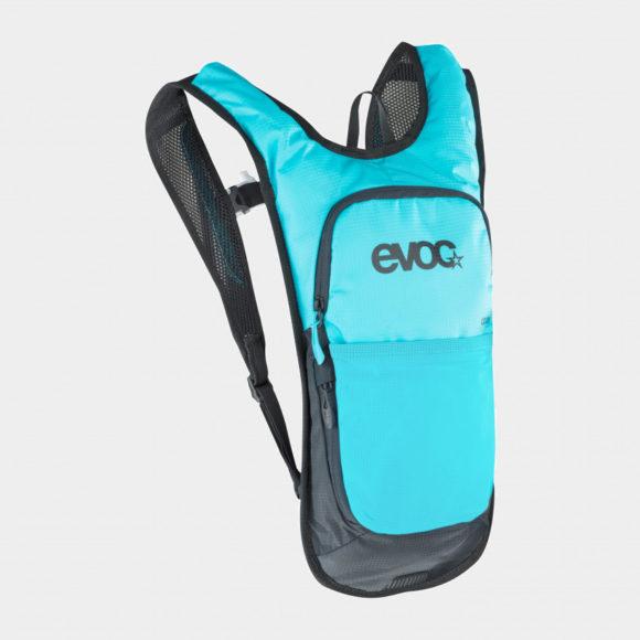 Vätskeryggsäck för cykel EVOC CC 2 Neon Blue, 2 liter + vätskebehållare (2 liter)
