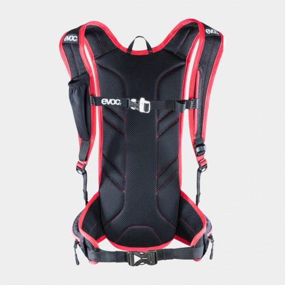 Vätskeryggsäck för cykel EVOC CC 3 Race röd/svart, 3 liter + vätskebehållare (2 liter)