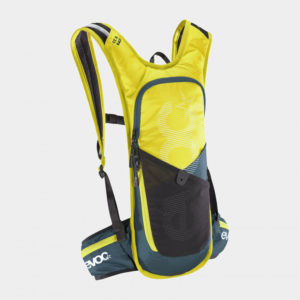Vätskeryggsäck för cykel EVOC CC 3 Race Sulphur/Slate, 3 liter + vätskebehållare (2 liter)