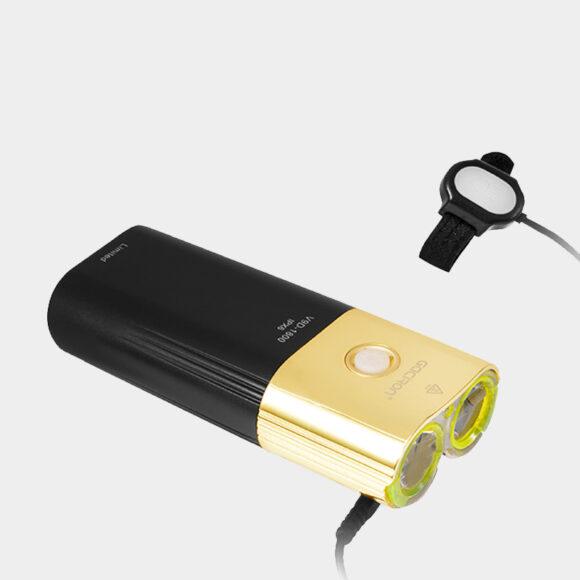 Framlampa Gaciron Speed X 1800 Gold