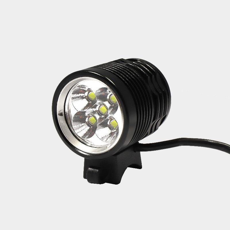 Hjälmlampa Ugoe Trailblazer 4000 + styrfäste