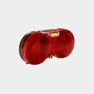 Baklampa Herrmans H-Vision, för pakethållare (50 mm och 80 mm)