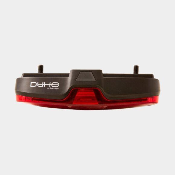 Baklampa Spanninga DUXO, för pakethållare (50 mm och 80 mm)