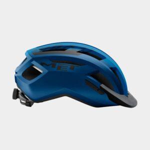 Cykelhjälm MET Allroad Blue Black/Matt, Medium (56 - 58 cm)