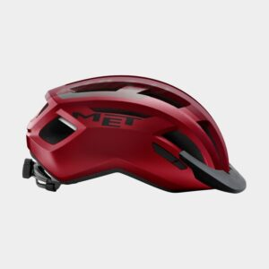 Cykelhjälm MET Allroad Red Black/Matt, Large (58 - 61 cm)