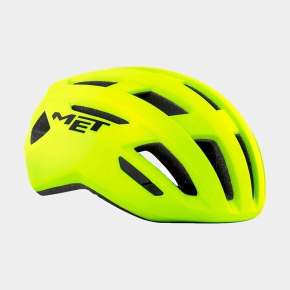 Cykelhjälm MET Allroad Safety Yellow/Matt, Large (58 - 61 cm)