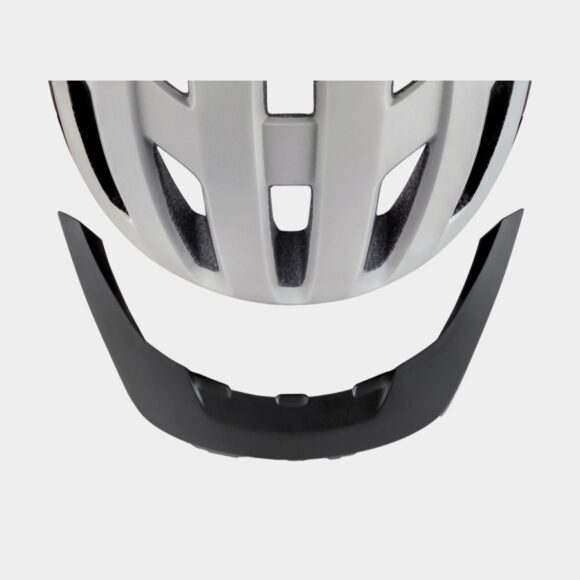 Cykelhjälm MET Allroad White/Matt, Medium (56 - 58 cm)