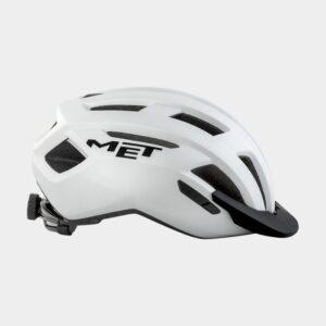Cykelhjälm MET Allroad White/Matt, Small (52 - 56 cm)