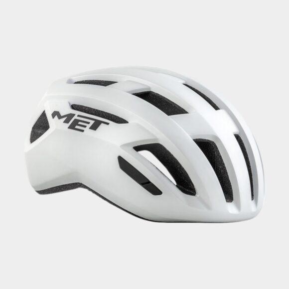 Cykelhjälm MET Allroad White/Matt, Large (58 - 61 cm)