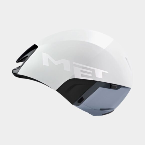 Cykelhjälm MET Codatronca White Black Matt Glossy, Medium (56 - 58 cm)