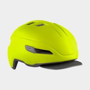 Cykelhjälm MET Corso Safety Yellow/Matt, Large (58 - 62 cm)
