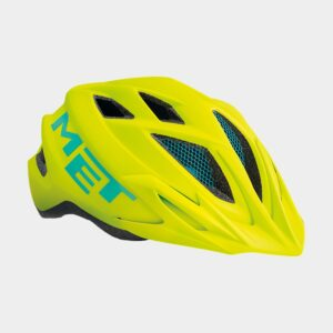 Cykelhjälm MET Crackerjack Safety Yellow/Matt, Universal (52 - 57 cm)