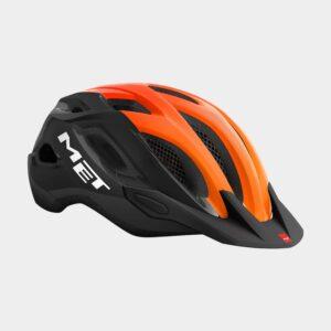 Cykelhjälm MET Crossover Safety Yellow Grey/Glossy, X-Large (60 - 64 cm)